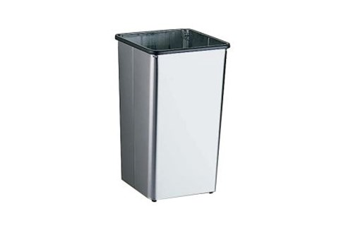 Bobrick B-2260 Waste Bin Open Top 49 liter
