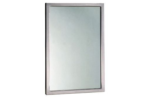 Bobrick B-290 1836 Welded Frame Mirror 910x460 mm