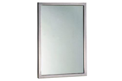 Bobrick B-290 2436 Welded Frame Mirror 910x610 mm