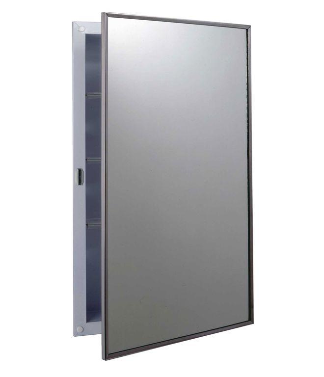 Medicijnkastje Met Spiegel : Bobrick b classic inbouw medicijnkastje met spiegel citroenair