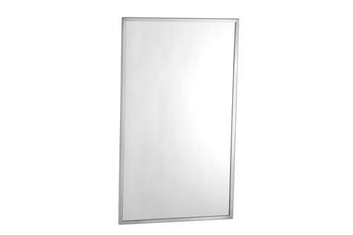 Bobrick B-165 1824 spiegel RVS gepolijst frame 61x46 cm