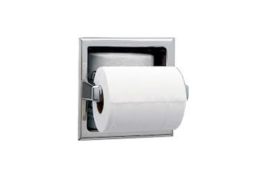 Bobrick B-6637 Recessed Toilet Tissue Dispenser
