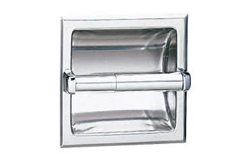 Bobrick B-667 Recessed Toilet Tissue Dispenser