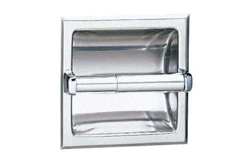Bobrick B-6677 Recessed Toilet Tissue Dispenser