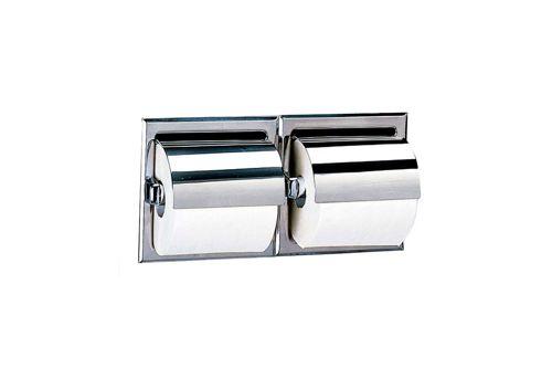 Bobrick #B-6997 inbouw dubbele toiletroldispenser