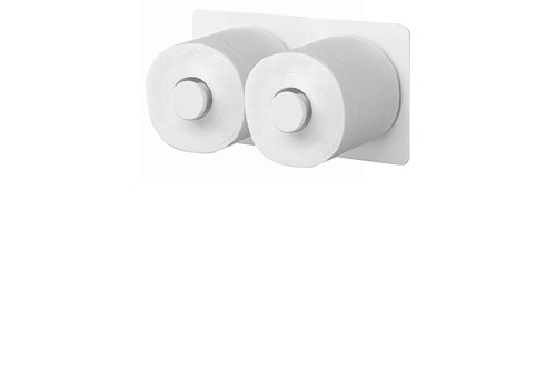 SanTRAL ERU 2 P Reserve Toilet Roll Holder, 2 Rolls