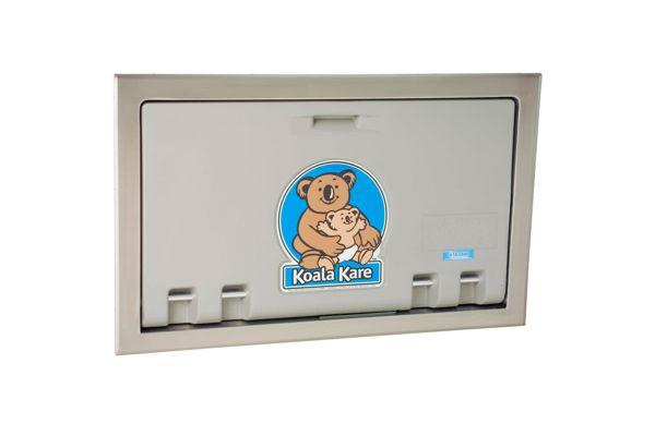Koala Kare KB100-01ST-INB inbouw babytafel grijs/RVS