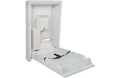 Koala Kare KB101-05-INB Vertic.Baby Changing Station WhiteGranit