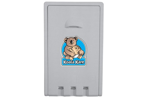 Koala Kare #KB101-01-INB Vertical Baby Changing Station - Grey