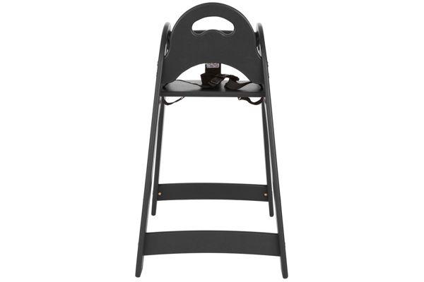 Koala Kare #KB105-02-INB Child High Chair Black