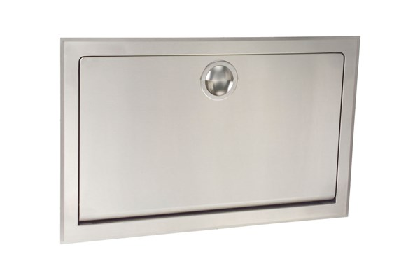 Koala Kare #KB110-SSRE-INB Recessed Baby Changing Station