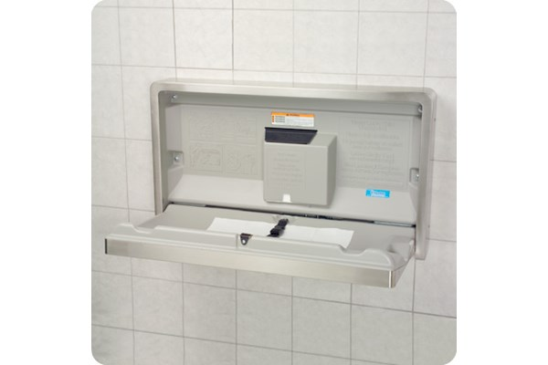 Koala Kare KB110-SSWM-INB Horizontal Baby Changing Station
