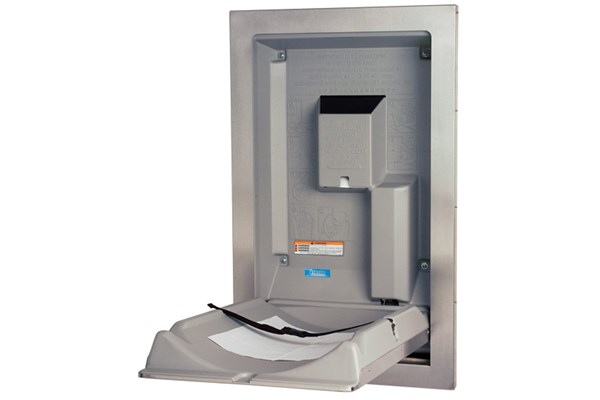 Koala Kare KB111-SSRE-INB Recessed Vertical Baby Changing Station