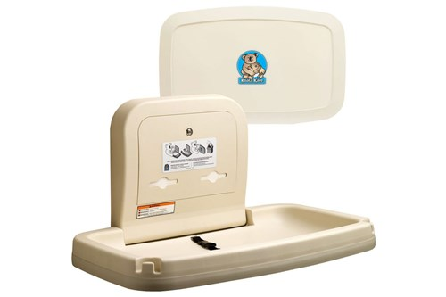 Koala Kare KB200-00-INB Horizontal Baby Changing Station - Cream