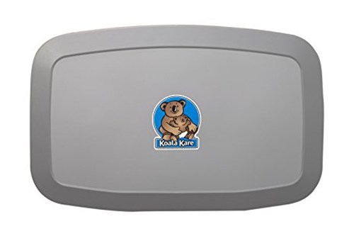 Koala Kare KB200-01-INB Horizontal Baby Changing Station - Grey
