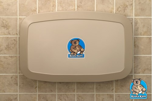 Koala Kare KB200-11-INB Horizontal Baby Changing Station - Earth