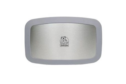 Koala Kare KB200-01SS-INB Horizontal Baby Changing Station,Grey/SS