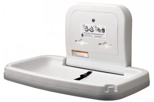 Koala Kare KB200-05-INB Horizontal Baby Changing Station, White