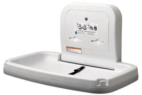 Koala Kare KB200-05-INB Horizontal Baby Changing Station White