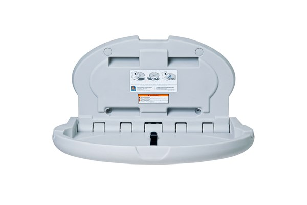 Koala Kare KB208-01-INB Oval Baby Changing Station - Grey