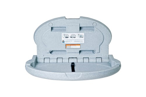 Koala Kare KB208-12-INB Baby Changing Station - Grey Granite