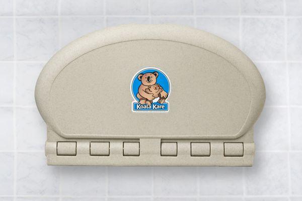 Koala Kare KB208-14-INB Oval Horizontal Baby Changing Station sa