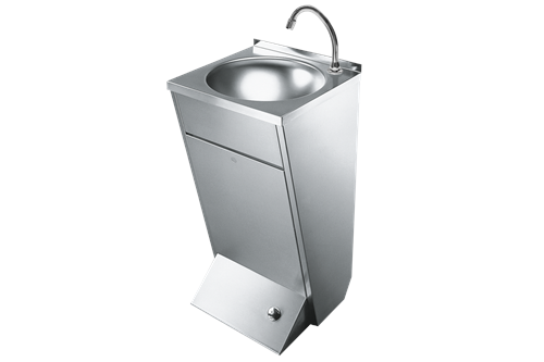 Franke LP21,ANIMA Wash basin with foot operation