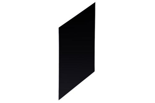 Geesa 915672,PUBLIC Urinal Partition Black