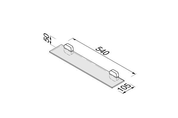 Geesa 912401-02,THESSA planchet 55 cm.