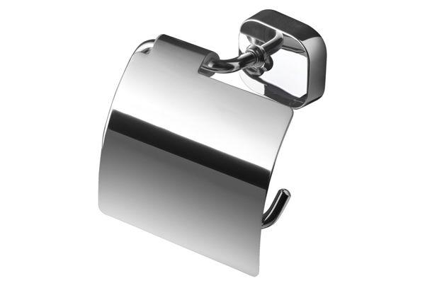 Geesa 912408-02,THESSA toiletrolhouder met klep