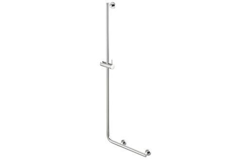 Geesa 915825-02-L Barre de douche avec poignée de sécurité