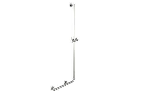 Geesa 915825-02-R Barre de douche avec poignée de sécurité