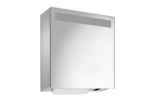 Wagner EWAR WP 600E,A-LINE spiegelkast met sensor zeep/papier