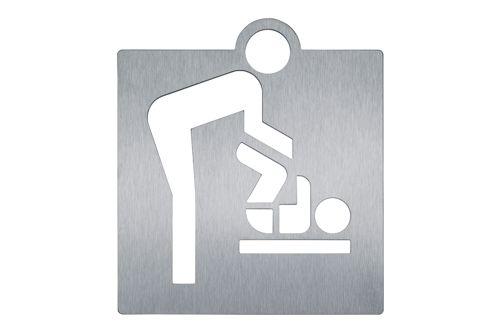Wagner EWAR AC 423 Baby changing room pictogram - screwing