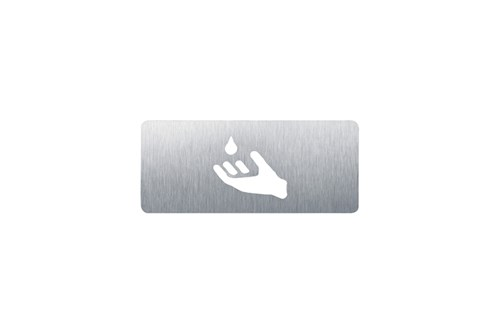 Wagner EWAR AC 425 Soap pictogram - self adhesive