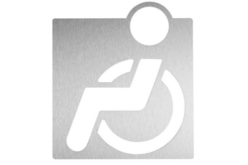Wagner EWAR #AC 430 Handicapped pictogram - Self-adhesive