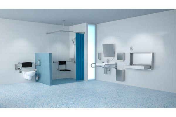 Wagner EWAR BF 611 vaste toiletsteun 500 mm.