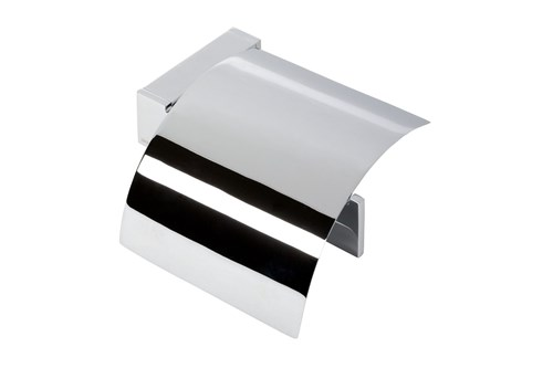Geesa 913508-02,MODERN Toilet roll holder with cover