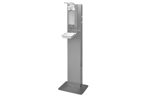 ingo-man plus 1420163 hygienezuil met 1000 ml. dispenser