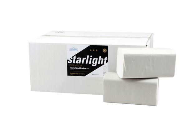 STARLIGHT,169002 Multifold handdoeken 3750 vel - 2 laags