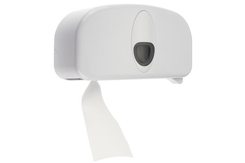 PlastiQ Coreless Toilet Roll Dispenser