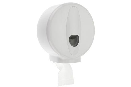 PlastiQ Mini Jumbo Toilet Roll Dispenser