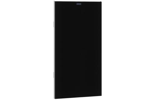 Franke ZEXOS605B,EXOS Face avant avec verre trempé noir