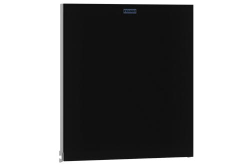 Franke ZEXOS600B,EXOS Face avant avec verre trempé noir
