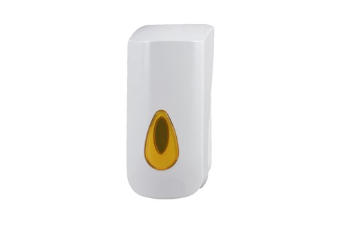 PlastiQline PQFOAM9P,YELLOW Foam Soap Dispenser 800 ml. POUCH
