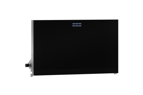 Franke ZEXOS676B,EXOS front zwart voor toiletrolhouder