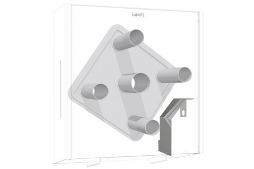 Franke ZEXOS670K,EXOS conversiekit voor 4 rollen
