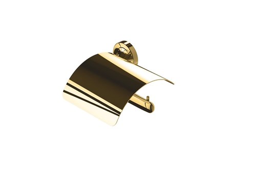Geesa 917308-04-R,TONE GOLD toiletrolhouder