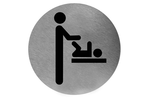 Mediclinics PS00005CS pictogram baby verschoonruimte plakbaar