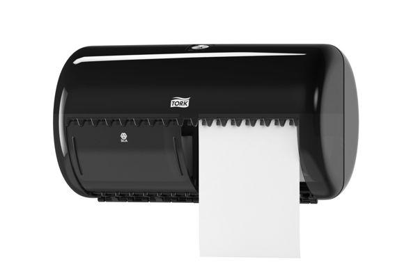 TORK 557008,T4 toiletroldispenser zwart